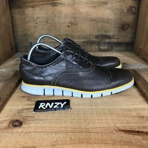 Cole Haan Zero Grand Leather Wingtip